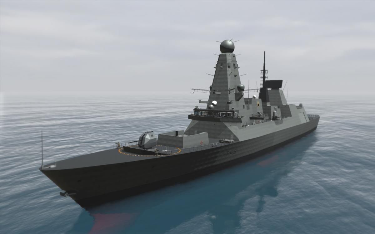 Type 45 Full View